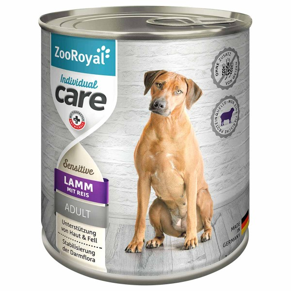 ZooRoyal Individual care Sensitive Lamm mit Reis