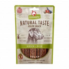 GranataPet Natural Taste Edler Snack Hirsch
