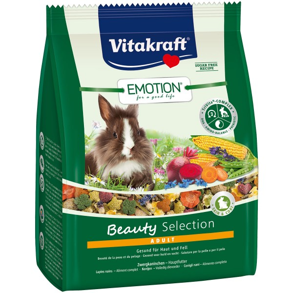Vitakraft Emotion Beauty Selection Adult Zwergkaninchen