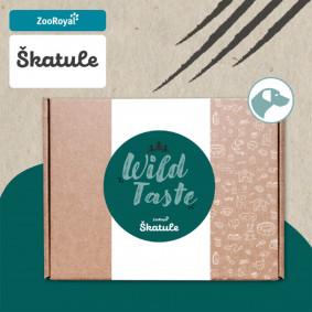 Schatzkiste Wild Taste für Hund – Tschechische Edition