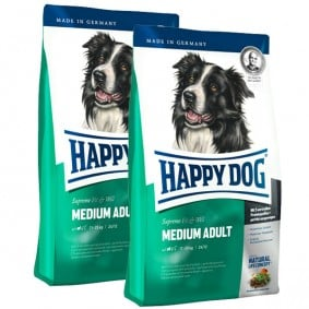 Happy Dog Supreme Fit & Well im Doppelpack Medium Adult 2x12,5kg