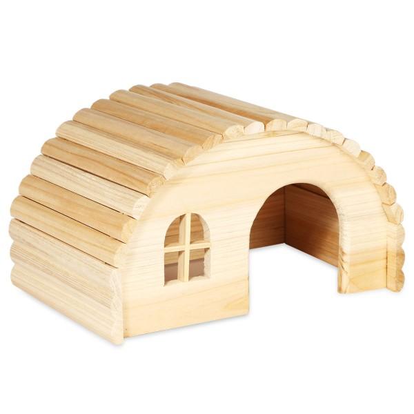 Trixie Rundes Holzhaus für Meerschweinchen 61272