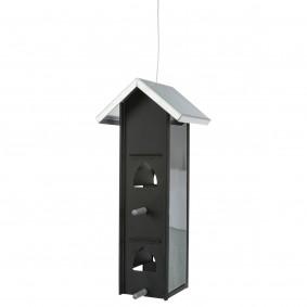 Trixie Futterhaus schwarz 28 cm