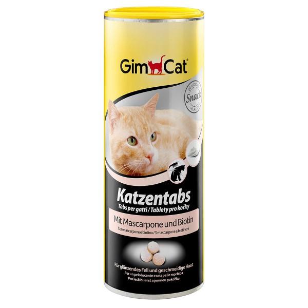 GimCat Katzentabs Mascarpone und Biotin 710 Stück