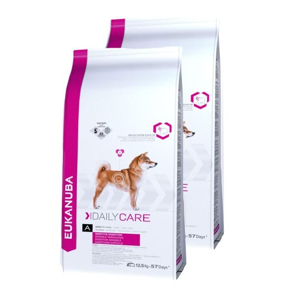 Eukanuba Care Hundefutter für sensible Verdauung Huhn 2x12,5kg