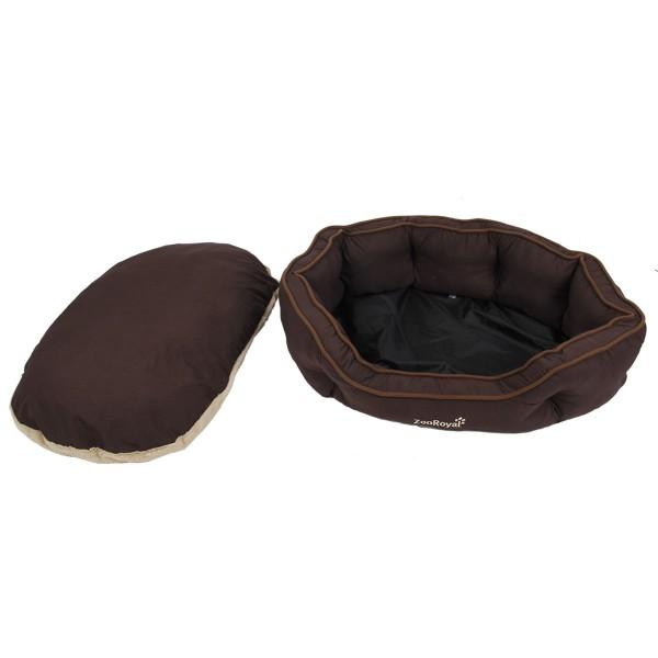 ZooRoyal Premium Hundebett Wido braun/beige