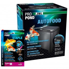 JBL Futterautomat ProPond AUTOFOOD + Staple M 4,3kg Gratis
