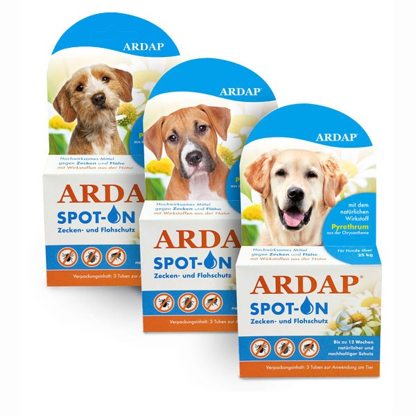 ARDAP Spot-On für Hunde - 3x1,0ml
