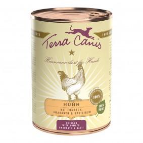 Terra Canis CLASSIC – Huhn mit Tomate, Amaranth und Basilikum