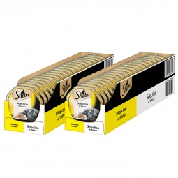 Sheba Katzenfutter Selection in Sauce Häppchen mit Huhn 44x85g