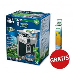 JBL Cristal Profi greenline e702 + Cleany Schlauchreinigungsbürste gratis