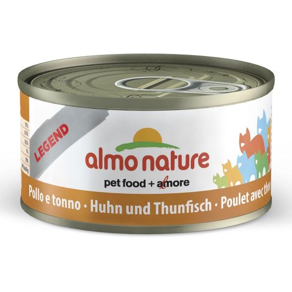 Almo Nature Legend Katzenfutter 24x70gThunfisch & Huhn