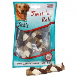 Jack's Hundesnack Twist 'n' Roll 3x12,5cm