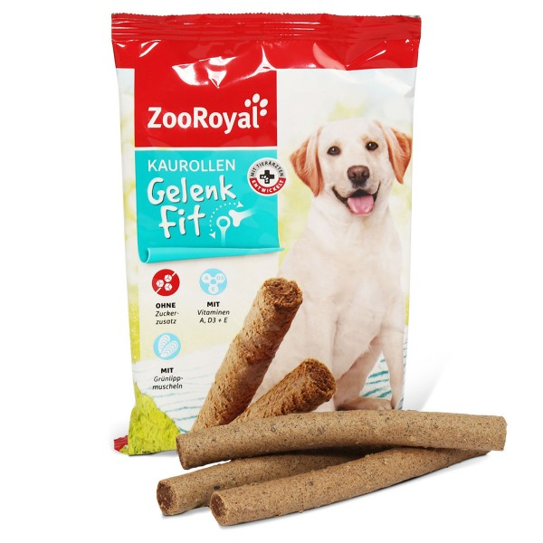 ZooRoyal Hundesnack Kaurollen Gelenkfit 7 Stück