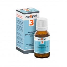 apopet Schüßler Salz Nr. 3 Ferrum phosphoricum D12
