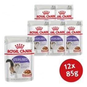 Royal Canin Nassfutter Feline Health Nutrition Sterilised in Soße