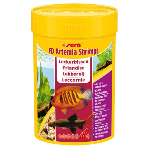 Sera FD Artemia Shrimps - 100ml