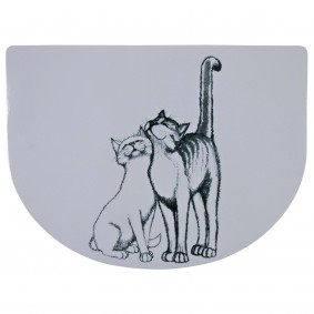 Jollypaw Napfunterlage Katze 40x30cm