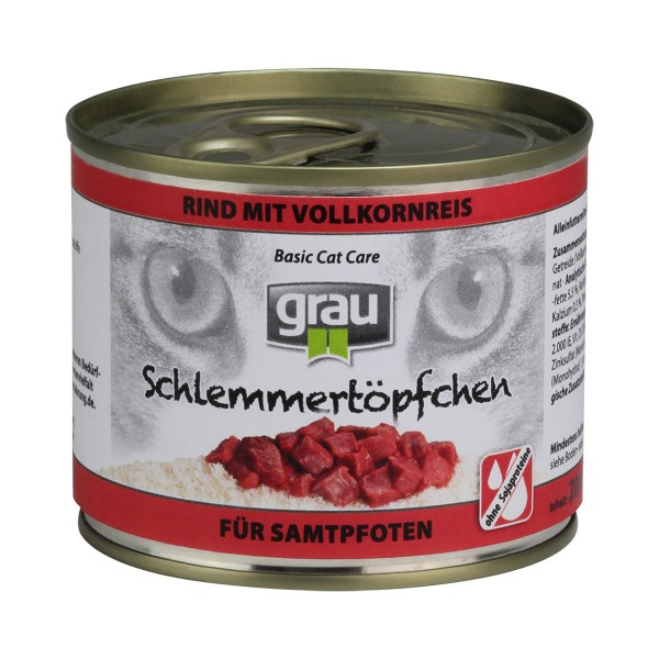 Grau Schlemmertöpfchen 24 x 200g