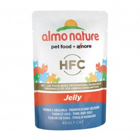 Almo Nature HFC in Jelly Thunfisch und Seezunge