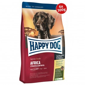 Happy Dog Supreme Africa 6x300g Spenden-Aktion
