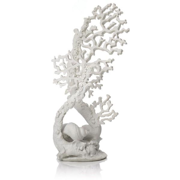 biOrb Aquariumdekoration Fächerkorallen-Skulptur weiß 771
