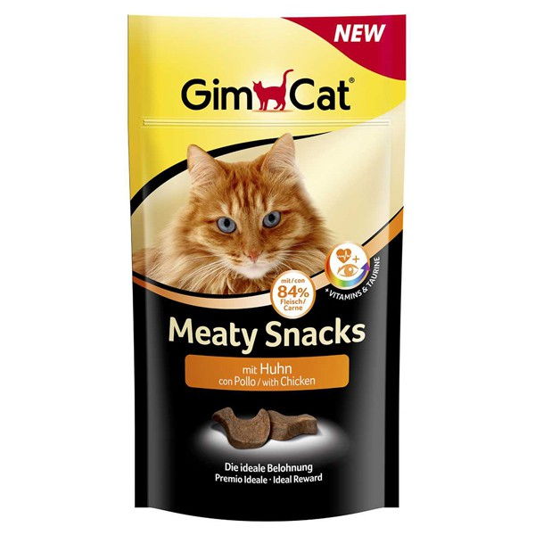 GimCat Meaty Snacks mit Huhn 35g