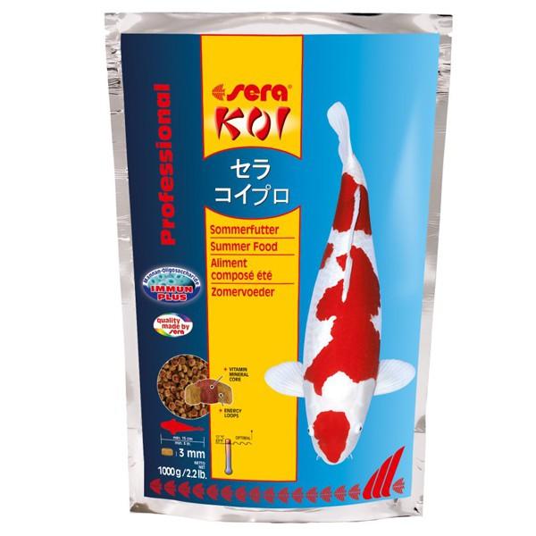 Sera KOI Professional Sommerfutter - 1000g