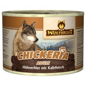 Wolfsblut Chickeria Adult Pure s kuřecím a telecím masem