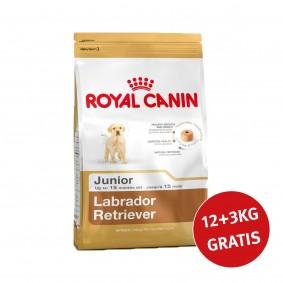 Royal Canin Labrador Retriever Junior 12kg+3kg Gratis!
