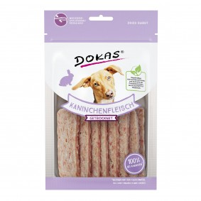 Dokas Hundesnack Kaninchenfleisch getrocknet 70g