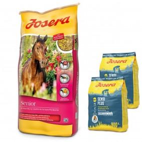 Josera Senior 20 kg + Josera SensiPlus 2 x 900 g gratis