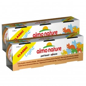 Almo Nature Light Katzenfutter 3x50g