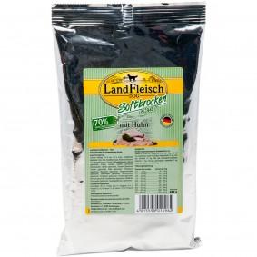 Landfleisch Pur Landfleisch Dog Softbrocken mit Huhn 1,5kg