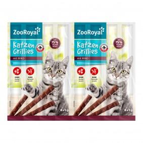 ZooRoyal grillies pro kočky s hovězím masem