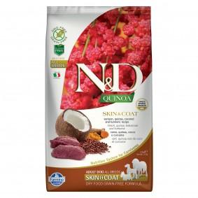 N&D Dog Quinoa Skin & Coat Vension