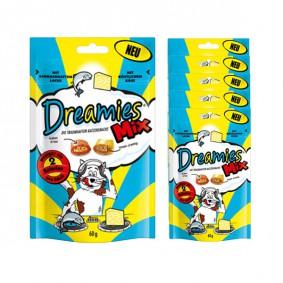 Dreamies Katzensnack- Mix mit Lachs&Käse