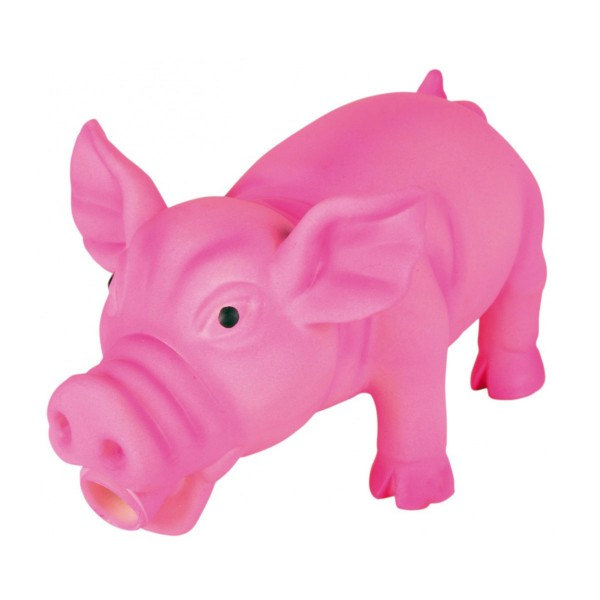 Trixie Schwein - Latex-Spielzeug div. Farben