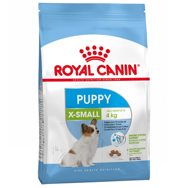 royal canin x small puppy g nstig kaufen bei zooroyal. Black Bedroom Furniture Sets. Home Design Ideas