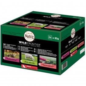 Nutro Adult Wild Frontier Mixpack 24x85g