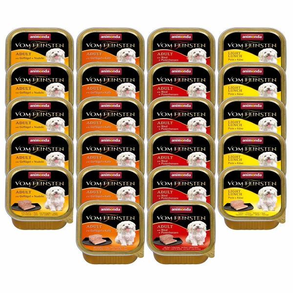 Animonda Hundefutter Vom Feinsten Mixpaket 1 Adult 22x150g