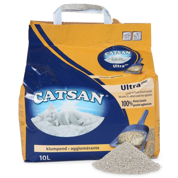 Catsan Ultra plus Klumpstreu