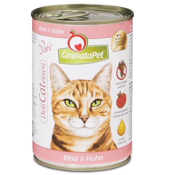 GranataPet DeliCatessen Rind + Huhn 400g - 12x400g