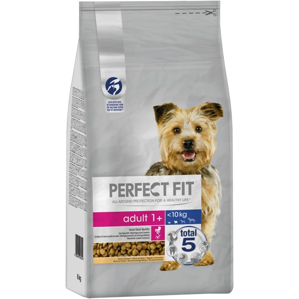 PERFECT FIT™ Hund Adult 1+ XS/S <10kg mit Huhn