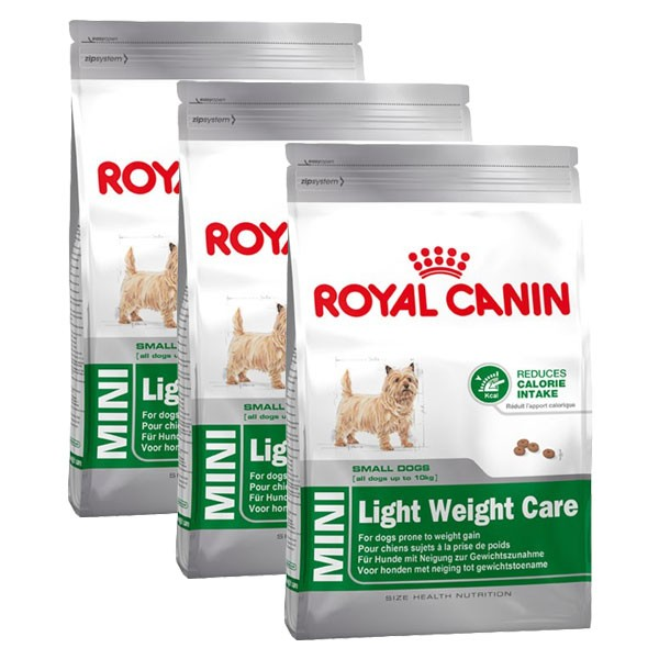 Royal Canin Hundefutter Mini Light Weight Care 3x2kg