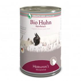 Herrmanns Bio Hunde- und Katzen-Ergänzungsfutter 100% Huhn
