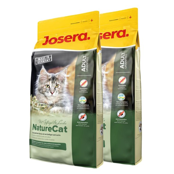 josera katzenfutter naturecat 2x10kg g nstig kaufen bei. Black Bedroom Furniture Sets. Home Design Ideas