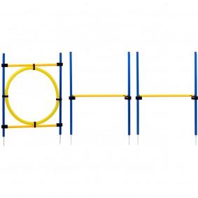 dobar 3-teiliges Agility Sprung-Set inkl. Tragetasche