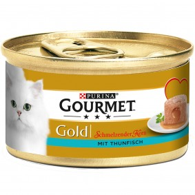 Gourmet Gold Schmelzender Kern mit Thunfisch9+3 GRATIS