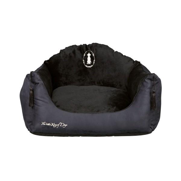 Trixie Hundekönig Bett schwarz